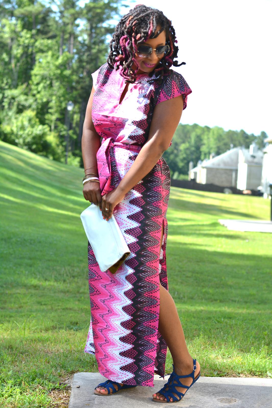 african print dress ideas