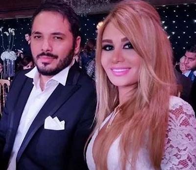 داليا سعيد في صورة رومانسية رفقة زوجها رامي عياش