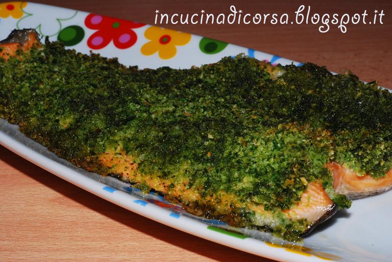 In cucina di corsa filetto di trota salmonata al forno for Cucinare trota
