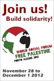 Junte-se a nós para construir a solidariedade - Forum Palestina Livre