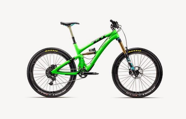 2015 Yeti SB6C Carbon Green