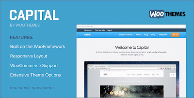 CAPITAL, Woocomerce Responsive WOrdpress Theme