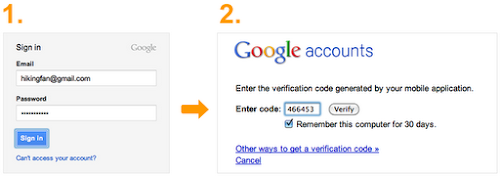 Google's 2-Step Verification