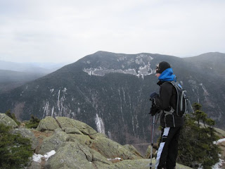 Looking across Crawford Notch