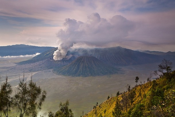 Popular volcano complex