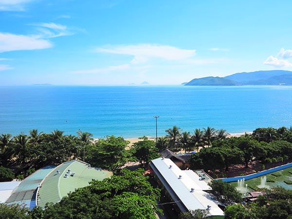 View of Nha Trang from Room
