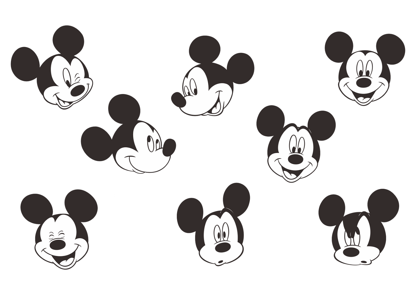 micky mouse template