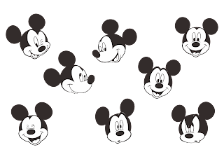 Mickey Mouse Logo Vector download free