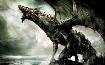 Dragón en un sueño