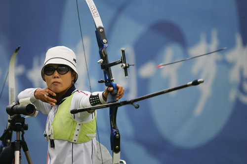 Olympic archery compound bow