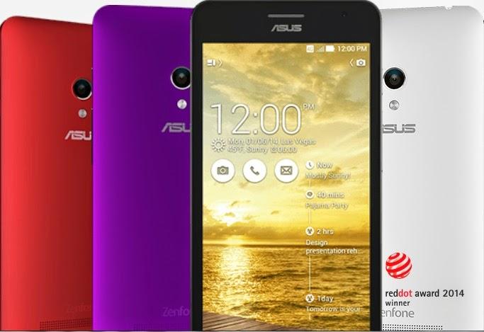 Asus Zenfone 5 LTE (A500KL) Lollipop Android 5 0 ROM ~ Asus Zenfone
