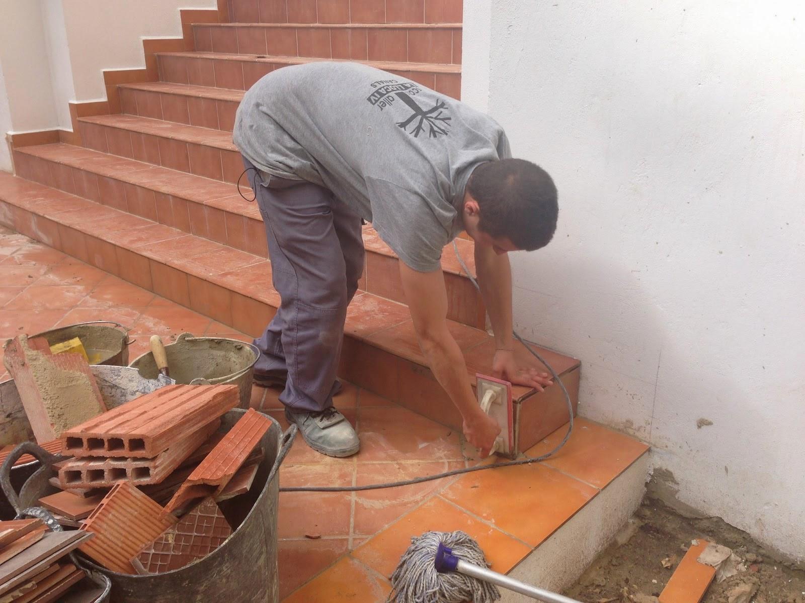 El maestro de obras xavier valderas construcci n de escaleras for Como hacer gradas