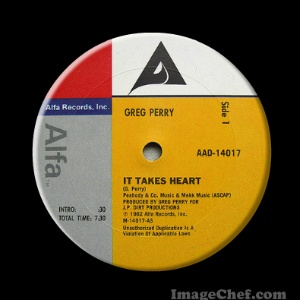 GREG PERRY - It Takes Heart