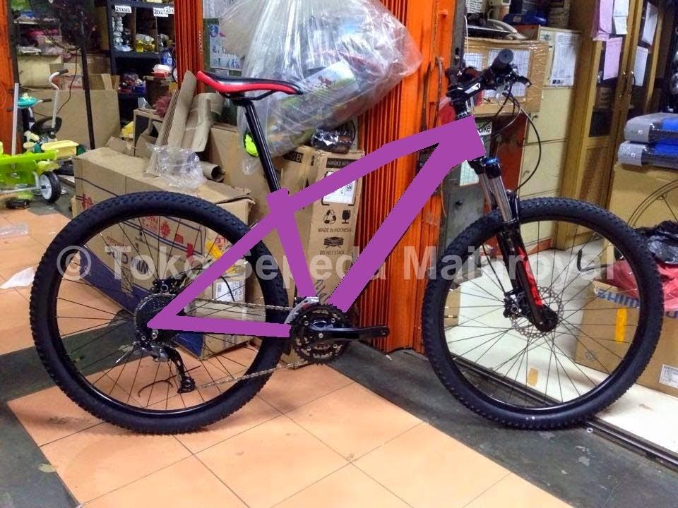 "Paket Murah Merakit Sepeda Mtb 27,5"" 3x9sp Alivio"