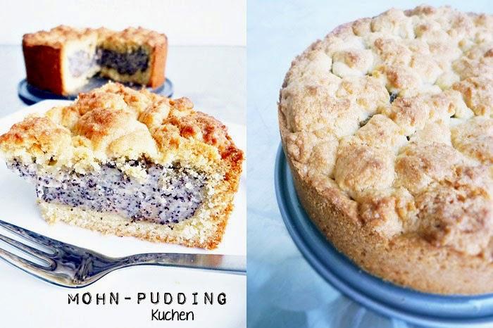 Mohn-Puddingkuchen