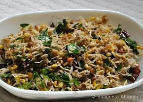 Fenugreek seeds : a yummy salad that helps in lactation..