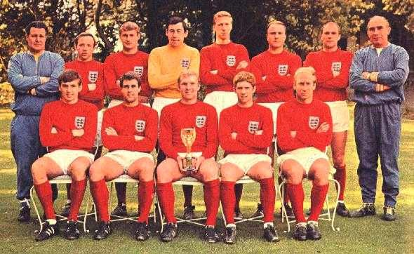 1966 Football World Cup winning Team