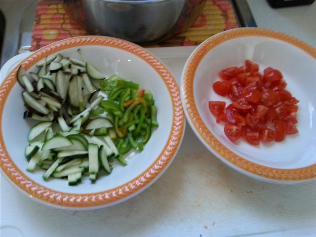 ingredienti per l'ortolana