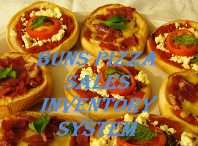 Buns Pizza Sales Inventory System