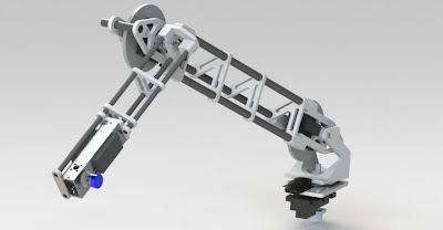 Robot Arm for mars rover