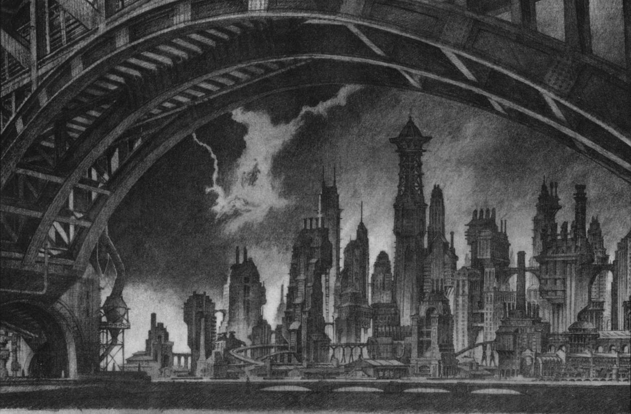 Anton Furst. Old Gotham City. Doctor Ojiplatico