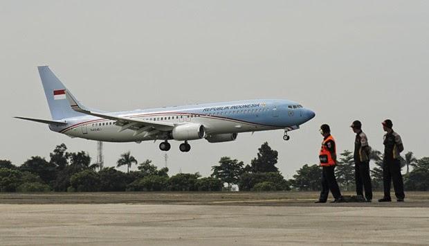Ini Alasan Dominasi Warna Biru Muda Pada Pesawat Kepresidenan RI