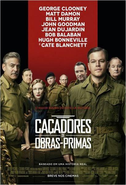"""Poster do filme """"Caçadores de Obras-Primas"""""""
