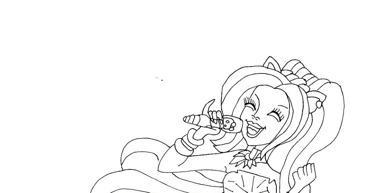 catty noir coloring pages - photo#28