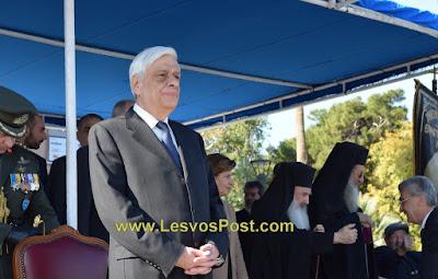 Το 2ωρο πρόγραμμα μετάβασης του Πρόεδρου της Δημοκρατίας κ. Προκόπη Παυλόπουλου σε Πολιχιτο και Βρισα