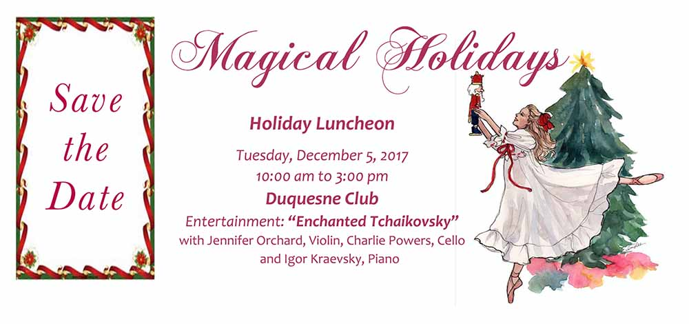Holiday Luncheon at the Duquesne Club