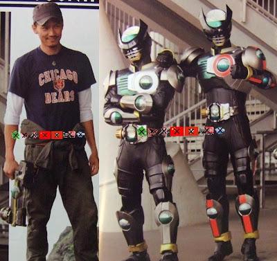 Orends: Range: Eiji vs Ankh, Giru, Kamen Rider OOO Ends