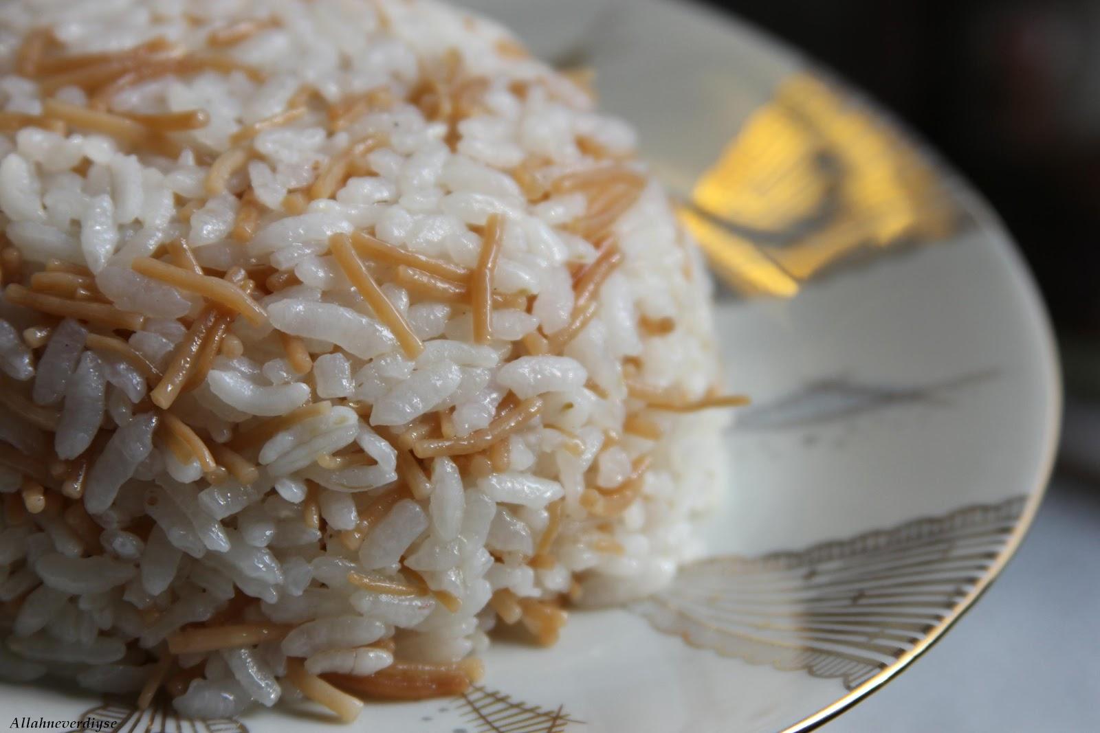 Tane Tane Nefis Pirinç Pilavı Tarifi