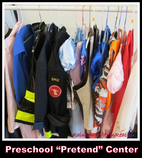 photo of: Providing Costumes in Support of Imaginary and Pretend Play in the Early Learning Center