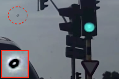 Ring Shaped UFO Spotted Above Belgium 2915, UFO Sightings