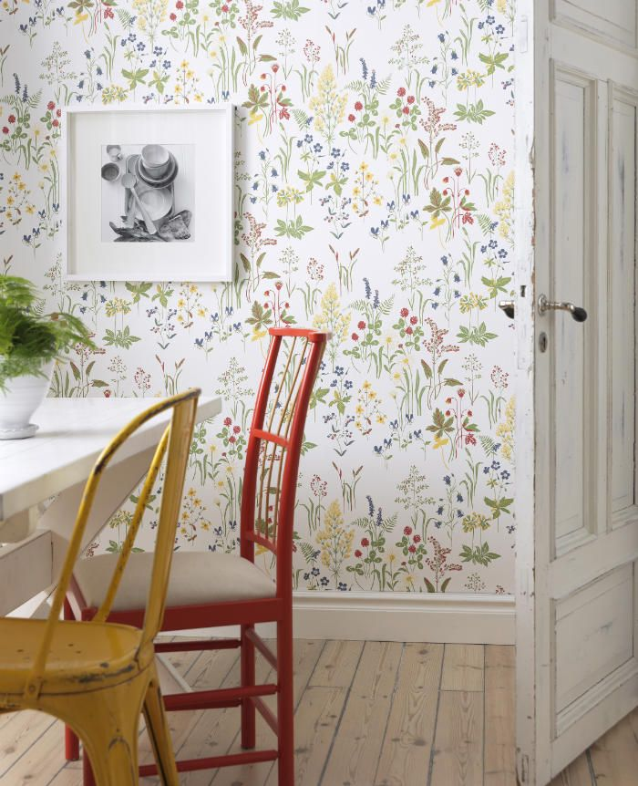 papel pintado para la cocina de verano