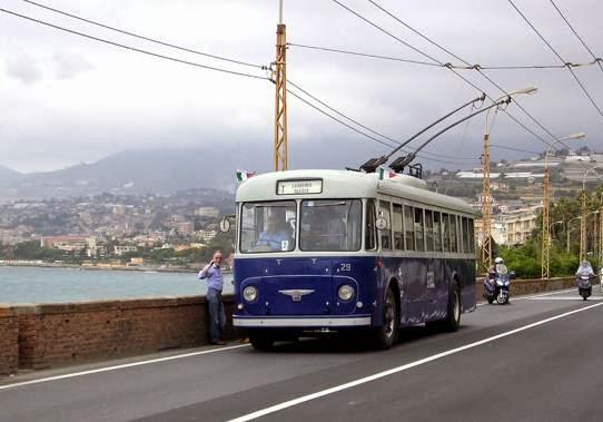 итальянских троллейбусах