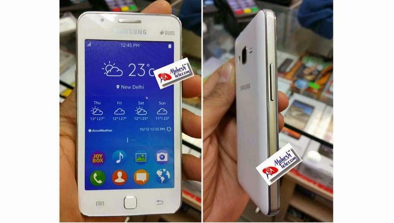 Bocoran Gambar Detail Bodi dan Spesifikasi Samsung Z1