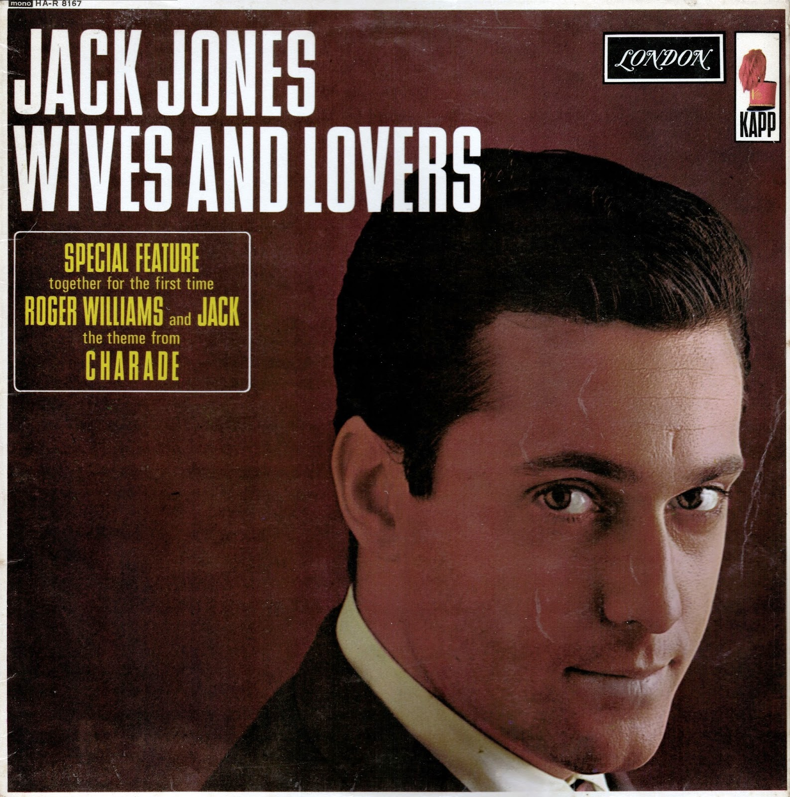 Vinyl Shipwreck Jack Jones Wives And Lovers Mono 1963