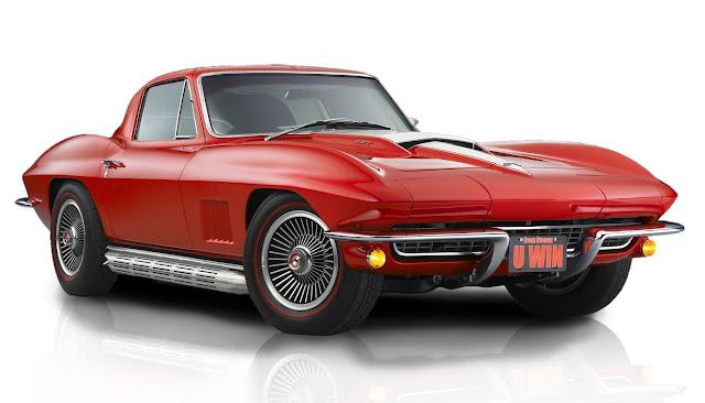 Classic cars 1967 Corvette