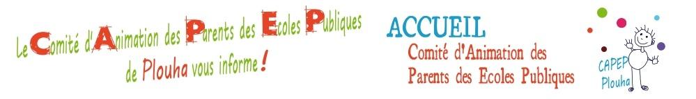 Le Comité d'Animation des Ecoles Publiques de Plouha vous informe !