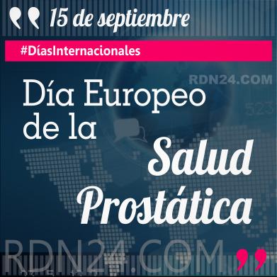 Día Europeo de la Salud Prostática #DíasInternacionales