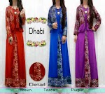 Gamis Jersey Bolero Songket SOLD OUT