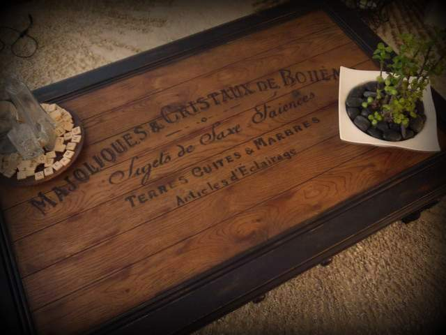 from gardners 2 bergers: ✥ reader feature: custom coffee tables