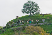 Bilbo's house in the Shire!