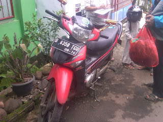 Pengiriman Motor Supra B 6358 TGU Jakarta - Palangkaraya