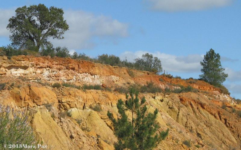 Algoz clay extraction area