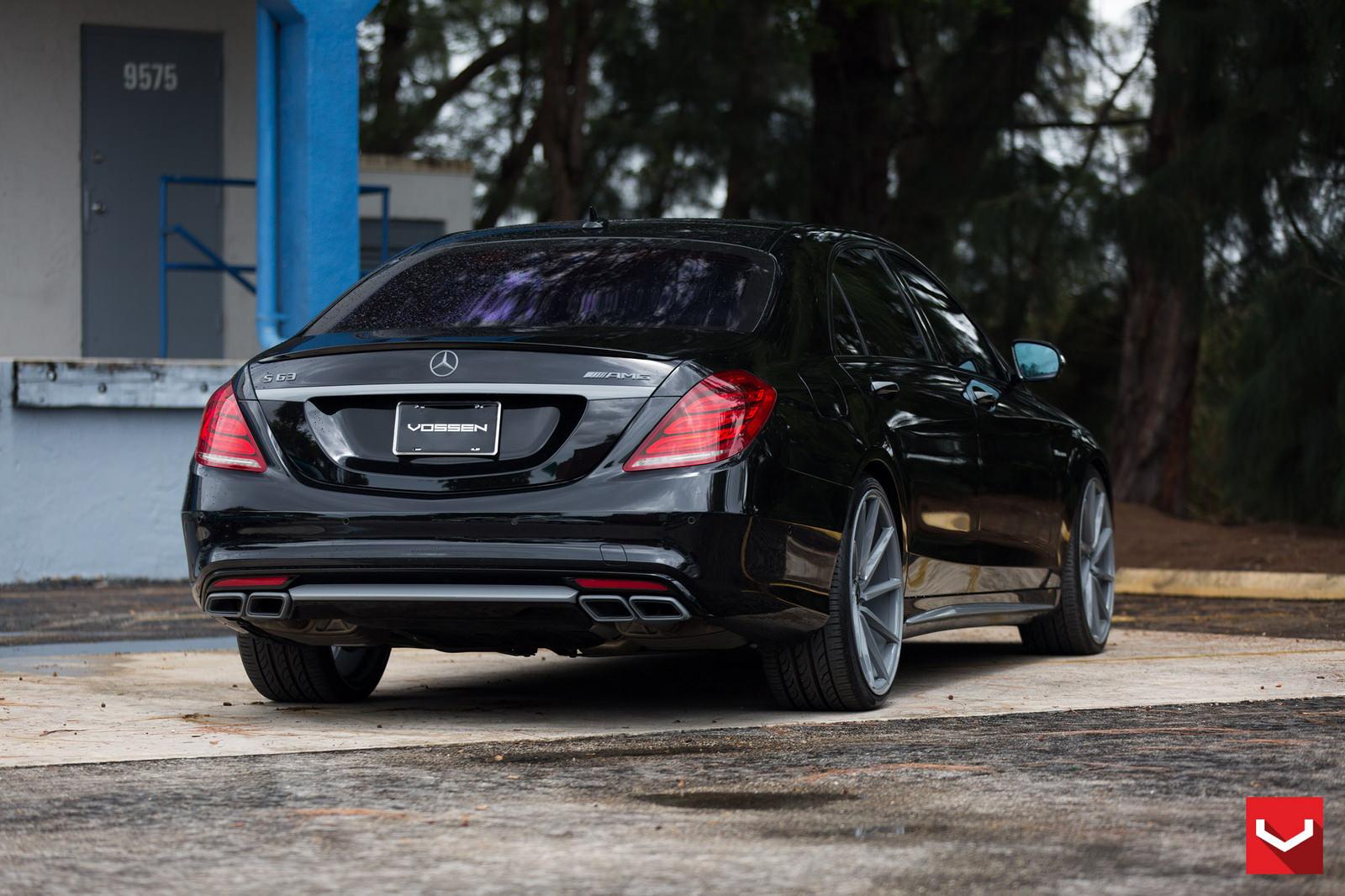 Mercedes benz w222 s63 amg on vossen cvt wheels benztuning for Mercedes benz s class rims