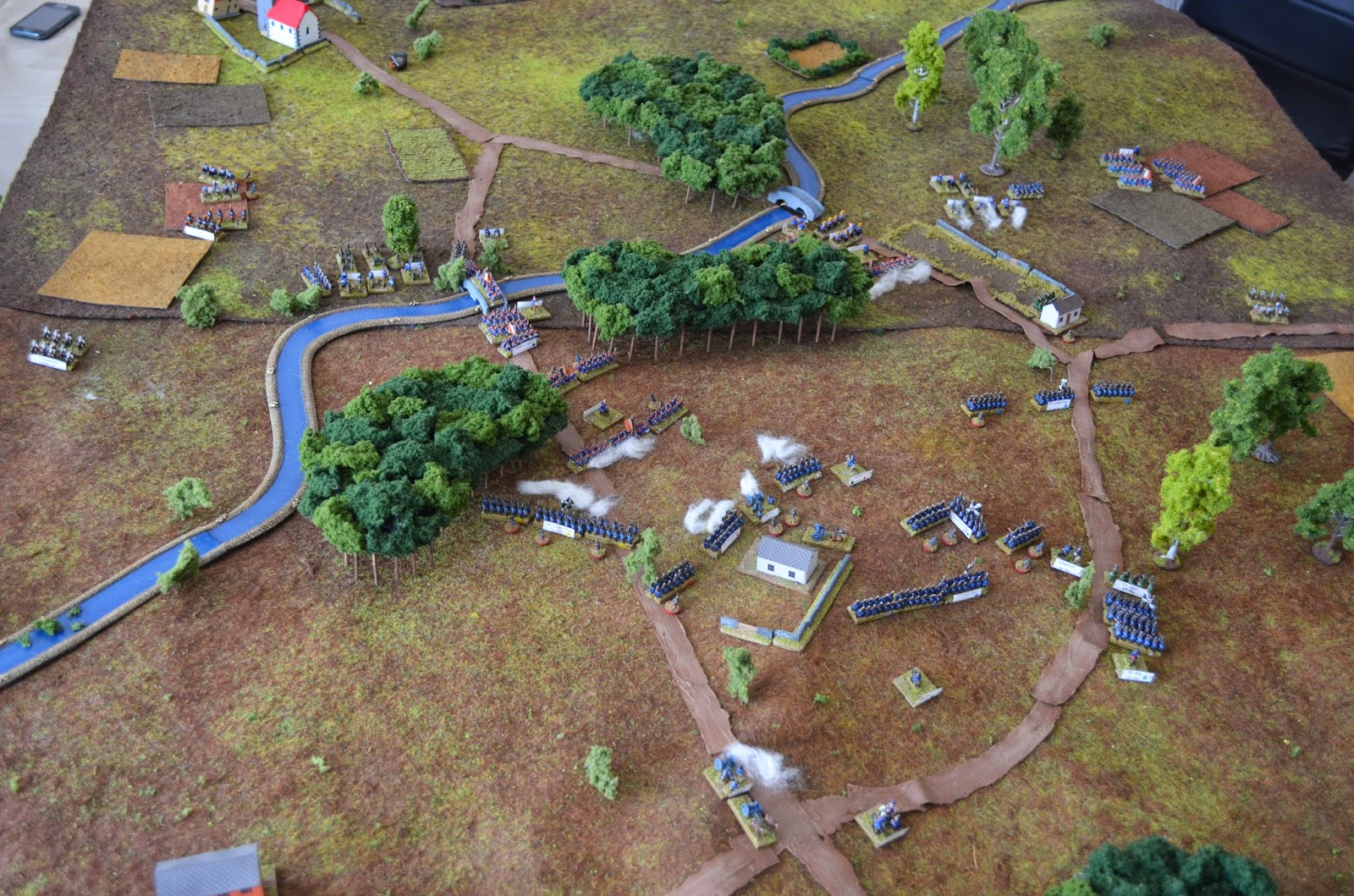 Making Forests for 6mm Wargaming |