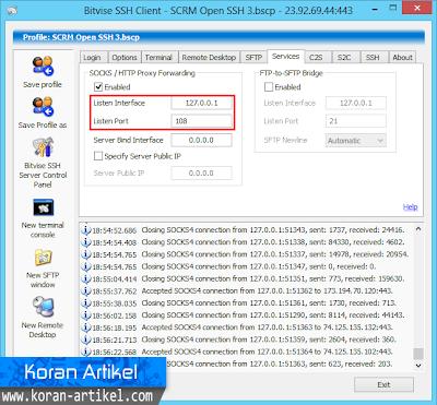 Cara Setting Dan Menggunakan SSH Di Google Chrome