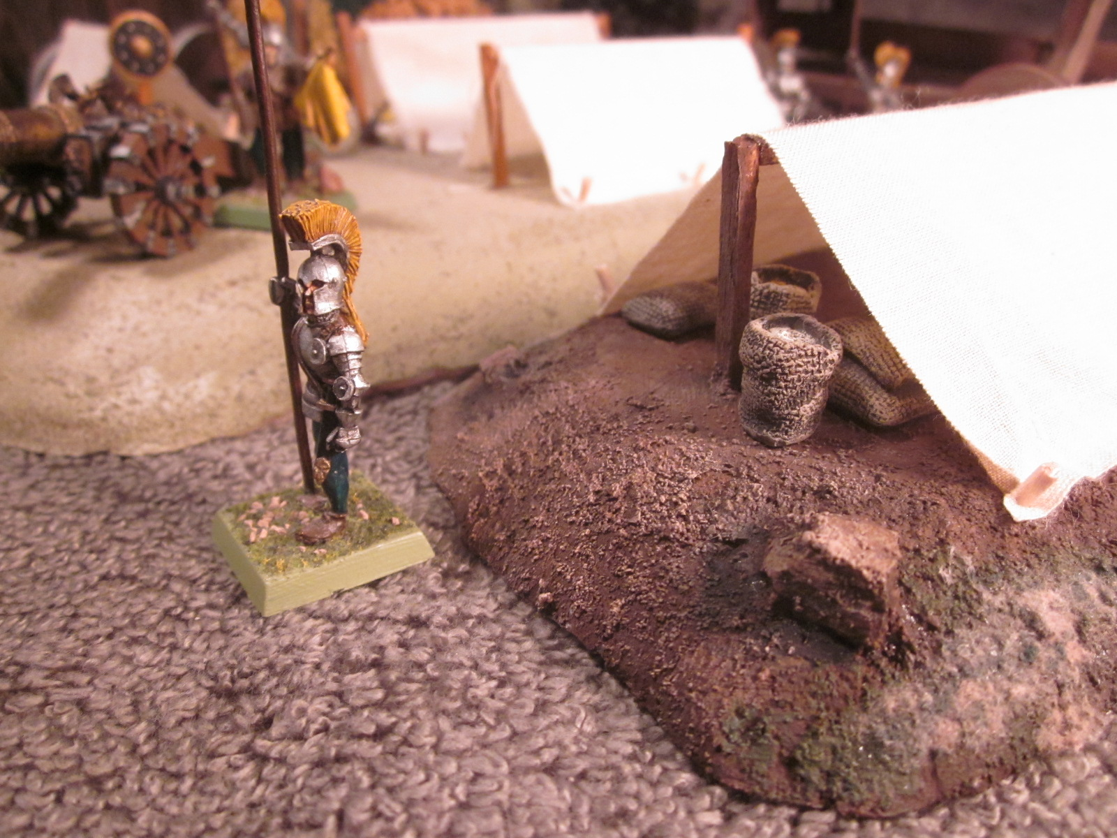 How To Build Tents for a Historical or Warhammer Siege Enc&ment & Battleground Hobbies: How To Build Tents for a Historical or ...